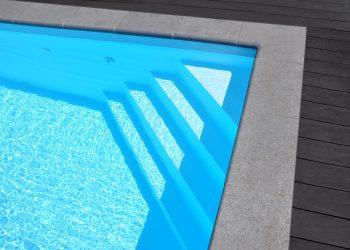 zwembadtrap met folie